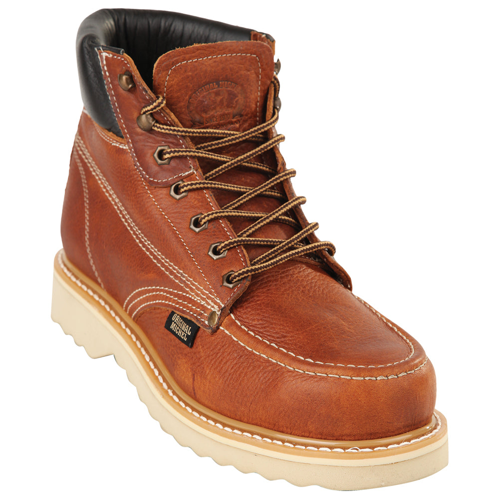 6 inch moc toe boots,work boots