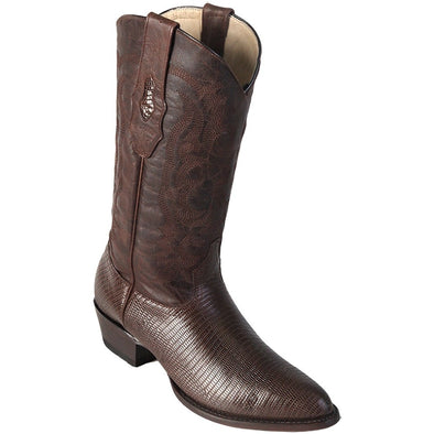 Mens Los Altos Ring Lizard Medium Round Toe Boots Handcrafted - yeehawcowboy