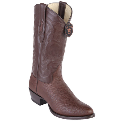 Men's Los Altos Sharkskin Round Toe Boots Handcrafted - yeehawcowboy