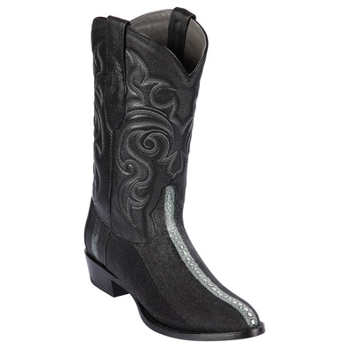 Men's Los Altos Stingray Boots Full Rowstone Round Toe Handmade - yeehawcowboy