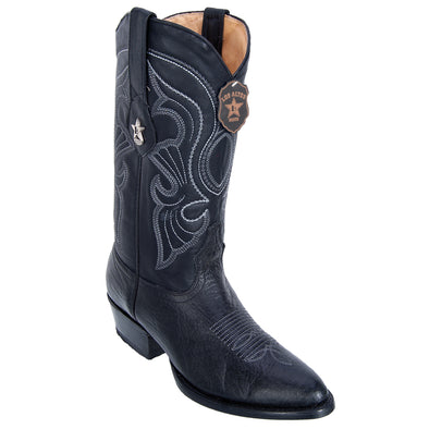 Men's Los Altos Bull Shoulder Boots Round Toe Handcrafted - yeehawcowboy
