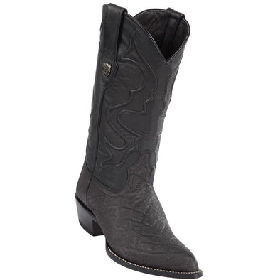 Men's Wild West Elephant Print Boots J Toe Handcrafted - yeehawcowboy