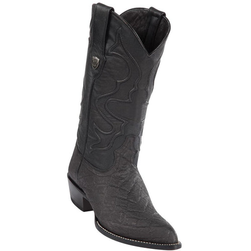 Men's Wild West Sharkskin Print Boots J Toe Handcrafted - yeehawcowboy