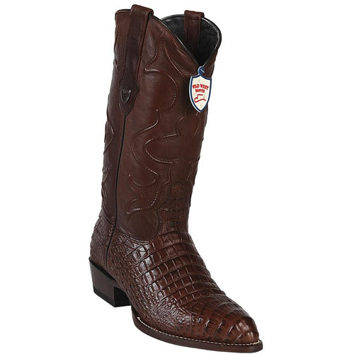 Men's Wild West Caiman Belly Print Boots J Toe Handcrafted - yeehawcowboy