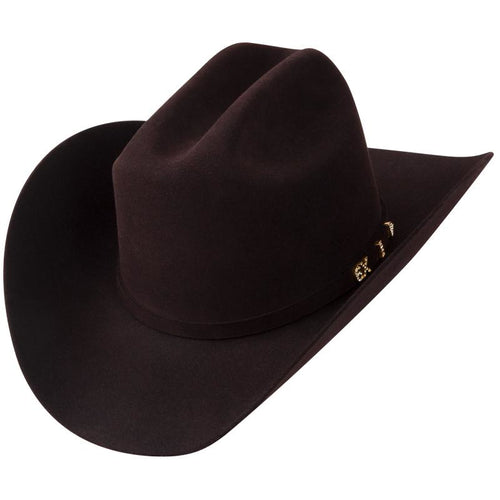 312d0be5cc1fb 6x Serratelli Amapola Beaver Felt Cowboy Hat Black Cherry - yeehawcowboy
