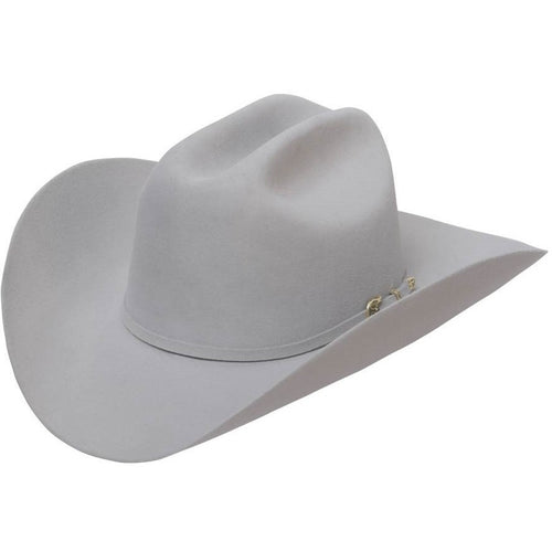 6x Stetson High Point Fur Felt Cowboy Hat Silver Gray - yeehawcowboy