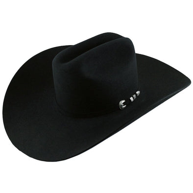 6x Stetson High Noon Fur Felt Cowboy Hat Black - yeehawcowboy