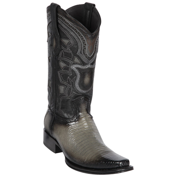 Men's Los Altos Teju European Square Toe Boots Handcrafted - yeehawcowboy