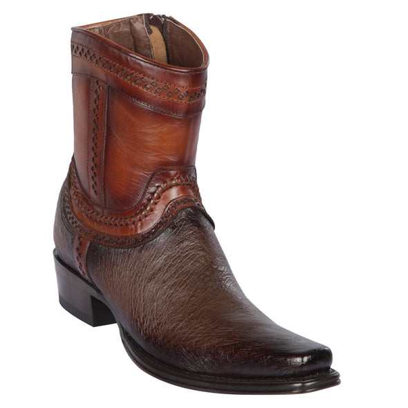 Men's Los Altos Smooth Ostrich European Square Toe Boots Handcrafted - yeehawcowboy