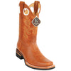 Men's King Exotic Boots Genuine Leather Square Toe Handcrafted - yeehawcowboy