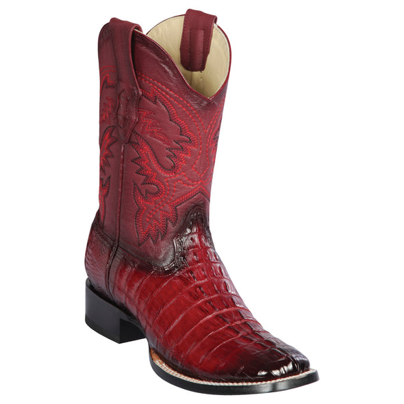 Men's Los Altos Caiman Tail Boots Handcrafted - yeehawcowboy