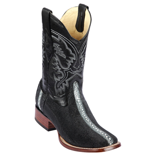 Men's Los Altos Stingray Rowstone Boots Handcrafted - yeehawcowboy