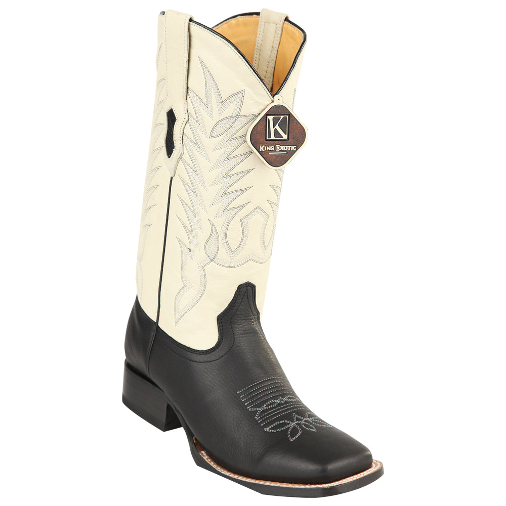 6542ce9cad0 Men's Los Altos Boots Genuine Leather Square Toe Handcrafted