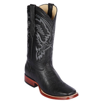 Men's Los Altos Bull Shoulder Boots Square Toe Handcrafted - yeehawcowboy