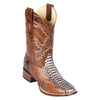 Men's Los Altos Square Toe Python Boots Handcrafted - yeehawcowboy