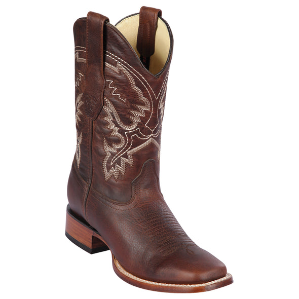 Men's Los Altos Leather Square Toe Boots Handcrafted - yeehawcowboy
