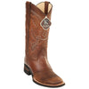 Men's King Exotic Boots Genuine Leather With Saddle Vamp Handcrafted - yeehawcowboy