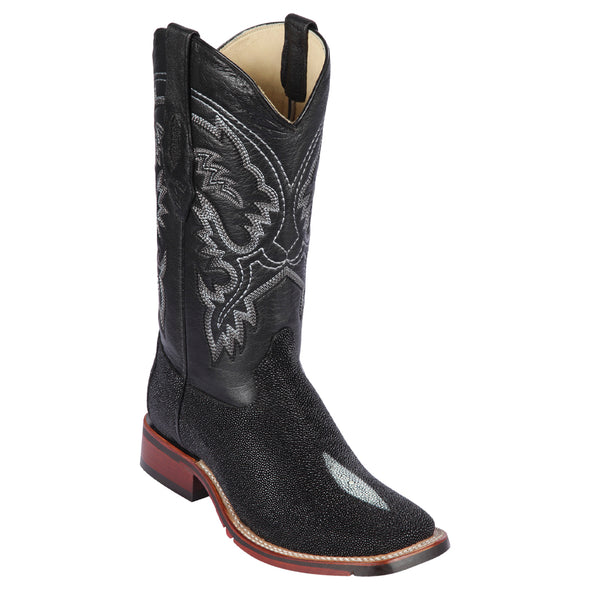 Men's Los Altos Stingray Single Stone Boots Handcrafted - yeehawcowboy
