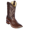 Men's Los Altos Caiman Belly Boots Handcrafted - yeehawcowboy