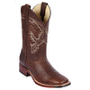 Men's Los Altos Leather Boots Handcrafted - yeehawcowboy