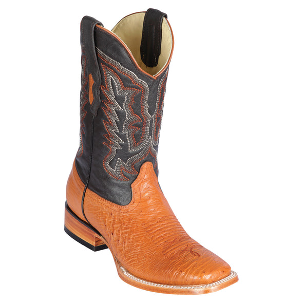 Men's Los Altos Smooth Ostrich Boots Handcrafted - yeehawcowboy