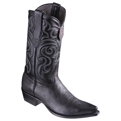 Men's Los Altos Bull Shoulder Boots Snip Toe Handcrafted - yeehawcowboy