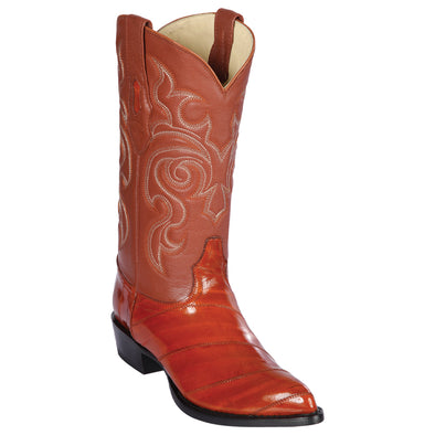 Men's Los Altos Genuine Eel J Toe Boots Handcrafted - yeehawcowboy