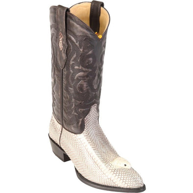 Men's Los Altos Genuine Cobra With Head J Toe Boots Handmade - yeehawcowboy