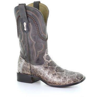 Men's Corral Rattlesnake Exotic Boots Handcrafted - yeehawcowboy