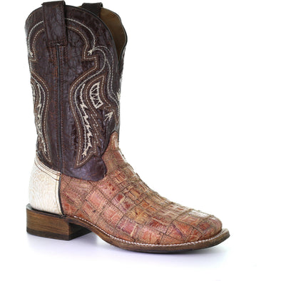 Men's Corral Caiman Exotic Boots Handcrafted - yeehawcowboy