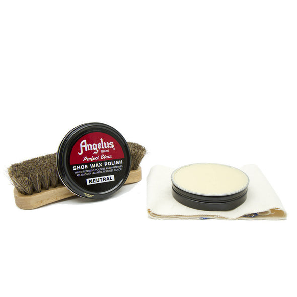 Angelus Boot & Shoe Wax Polish 3 oz. Neutral  For All Colors - yeehawcowboy