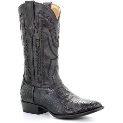 Men's Corral Caiman Belly Exotic Boots Handcrafted - yeehawcowboy