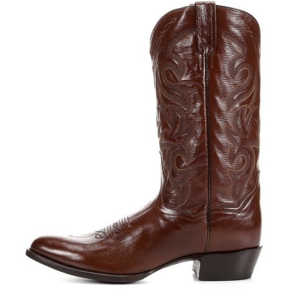 Men's Dan Post Milwaukee Genuine Leather Handmade Cowboy Boots - yeehawcowboy