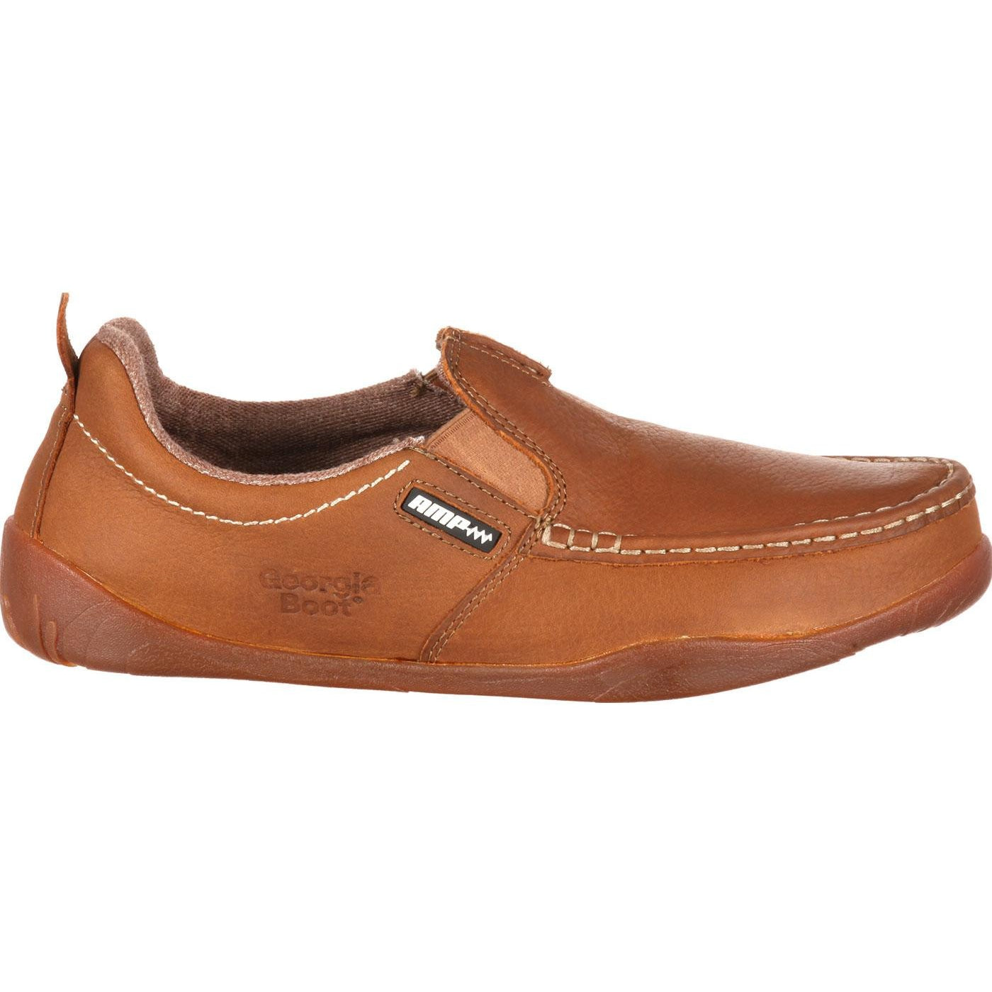 Georgia Boot Cedar Falls Men's ... Moc-Toe Slip-On Shoes