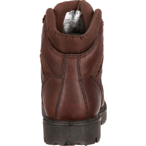 Men's Georgia Boots Homeland Waterproof Work Boots - yeehawcowboy