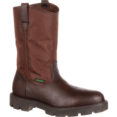 Men's Georgia Boots Homeland Waterproof Wellington Work Boots - yeehawcowboy