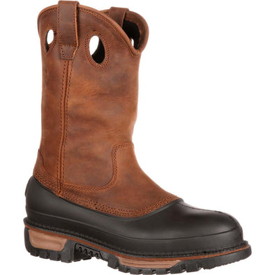 Men's Georgia Boots Muddog Steel Toe Waterproof Wellington - yeehawcowboy