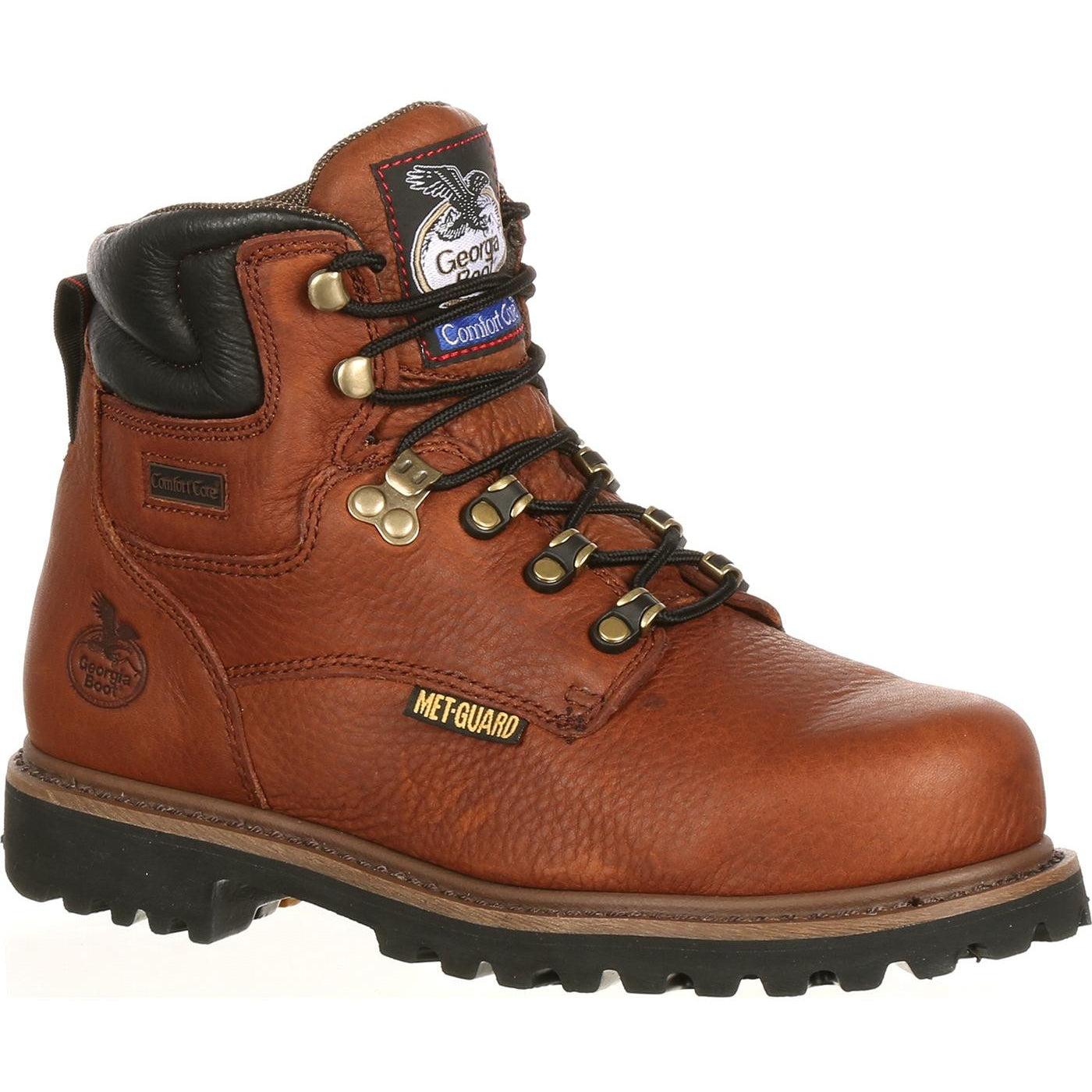 80e92d8712f Men's Georgia Boots Hammer Internal Metatarsal Steel Toe Work Boots