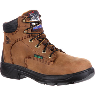 Men's Georgia Boots FLXpoint Composite Toe Waterproof Work Boots - yeehawcowboy