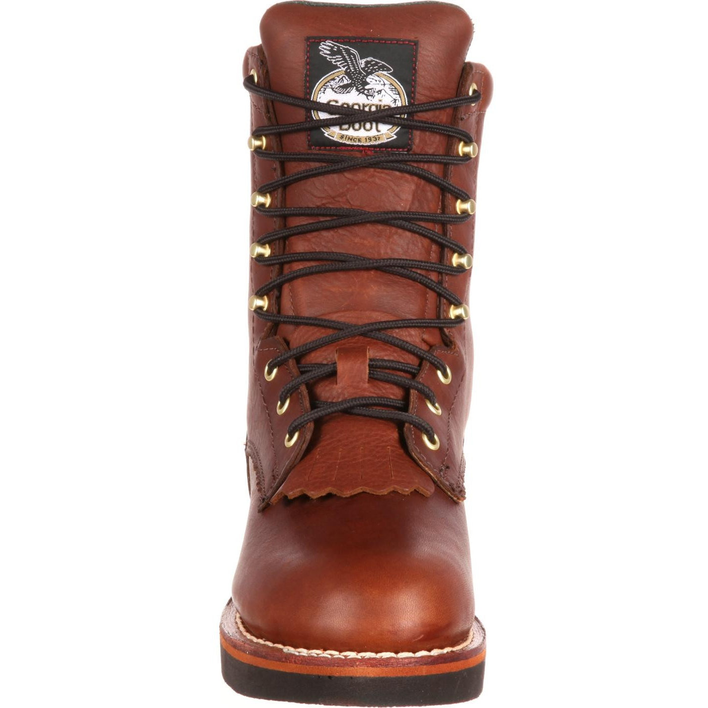 2f59e2566eb Men's Georgia Boots Farm and Ranch Lacer Work Boots