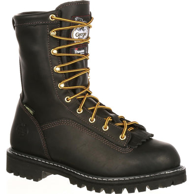 Men's Georgia Boots Lace-to-Toe GORE-TEX® Waterproof Insulated Work Boots - yeehawcowboy