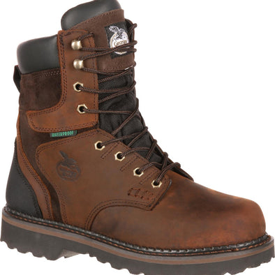 Men's Georgia Boots Brookville Waterproof Work Boots - yeehawcowboy