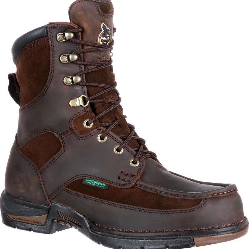 Men's Georgia Boots Athens Waterproof Work Boots - yeehawcowboy