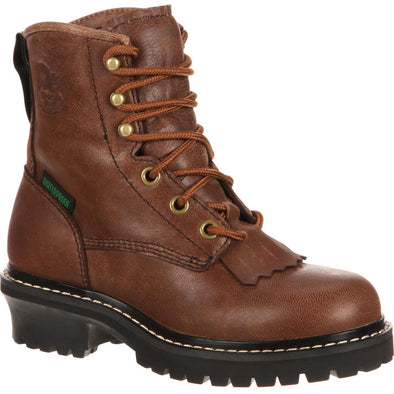 Kid's Georgia Boots Little Kids' Waterproof Logger - yeehawcowboy