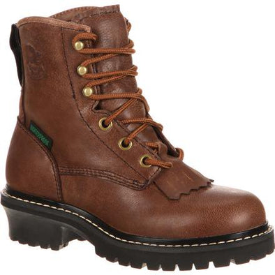Kid's georgia boot big waterproof logger - yeehawcowboy