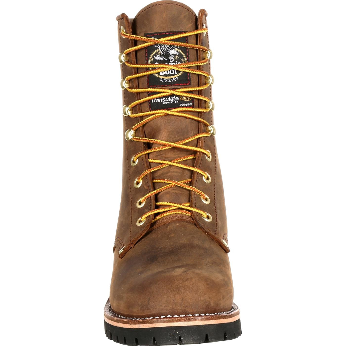 992261e6dd2 Men's Georgia Boots Steel Toe Waterproof Insulated Logger Work Boots