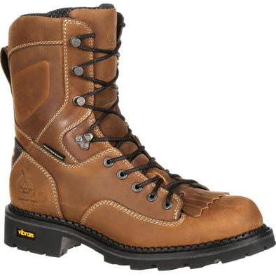 Men's Georgia Boots Comfort Core Composite Toe Waterproof Logger Work Boots - yeehawcowboy