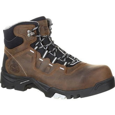 Men's Georgia Boots Amplitude Composite Toe Waterproof Work Boots - yeehawcowboy