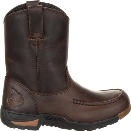 Kid's Georgia Boots Athens Big Kids' Pull-On Boots - yeehawcowboy