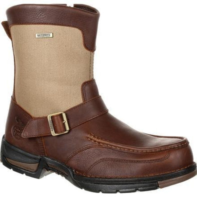 Men's Georgia Boots Athens Waterproof Side-Zip Boots - yeehawcowboy